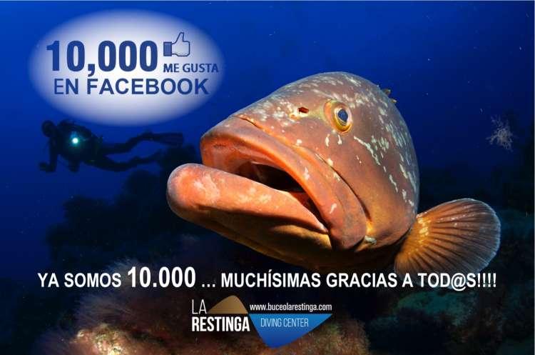 YA SOMOS 10.000 EN FACEBOOK... MUCHÍSIMAS GRACIAS A TOD@S!!